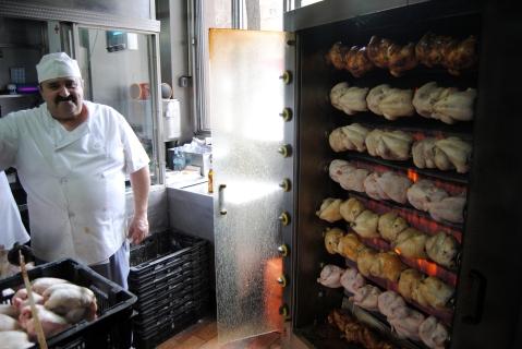 El asador de pollos